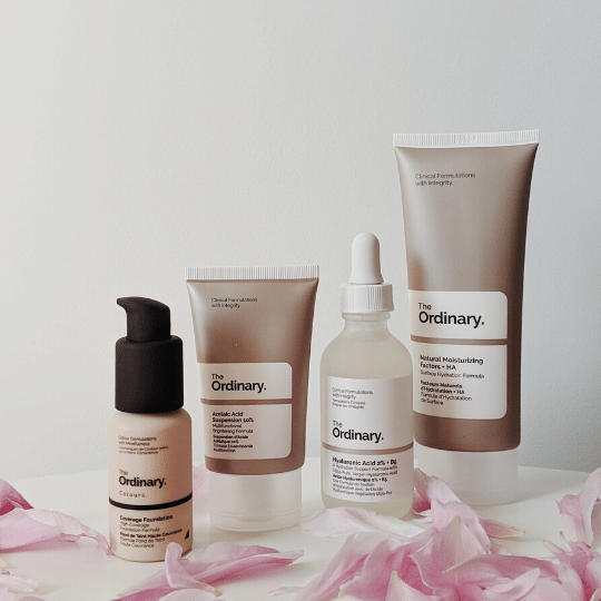 Ordinary Skincare Products